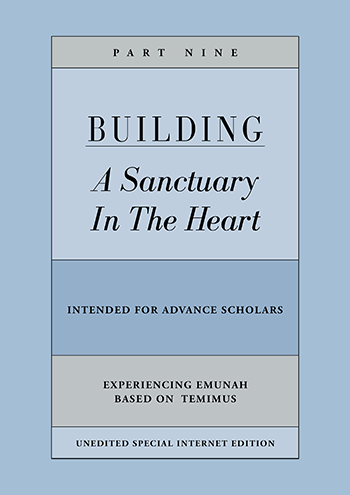 Building a Sanctuary in the Heart | Part Five