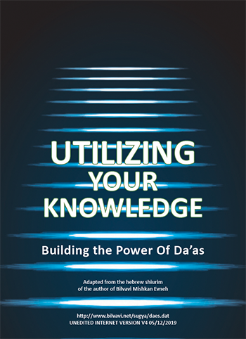 Utilizing Your Knowledge