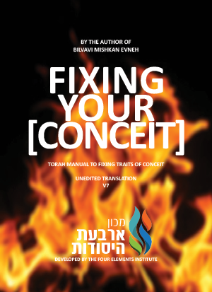 Fixing Your Fire CONCEIT